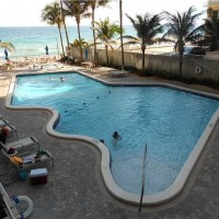 Pool views from a condo for sale here in Galt Ocean Club Fort Lauderdale