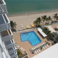 Views from a Fort Lauderdale condo here in Ocean Summit on Galt Ocean Mile