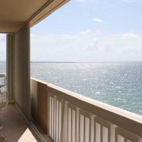 Views from a Fort Lauderdale condo for sale in Plaza East on Galt Ocean Mile