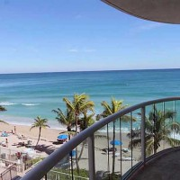View from a condo for sale in the South Tower of Southpoint here in Ft Lauderdale