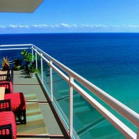 Views from a Fort Lauderdale condo for sale here in Playa del Mar on Galt Ocean Mile