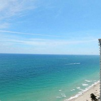 Views from a Fort Lauderdale condo for sale here in Plaza East