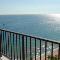 Ocean views from a condo for sale here in Plaza South