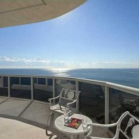 View from a luxury L'Hermitage penthouse condo for sale here in Fort Lauderdale