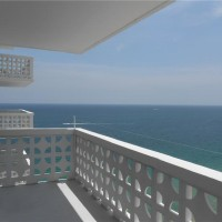 Views from a Fort Lauderdale condo for sale here at Ocean Summit