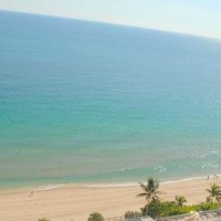 Views from a Fort Lauderdale condo here in Plaza South