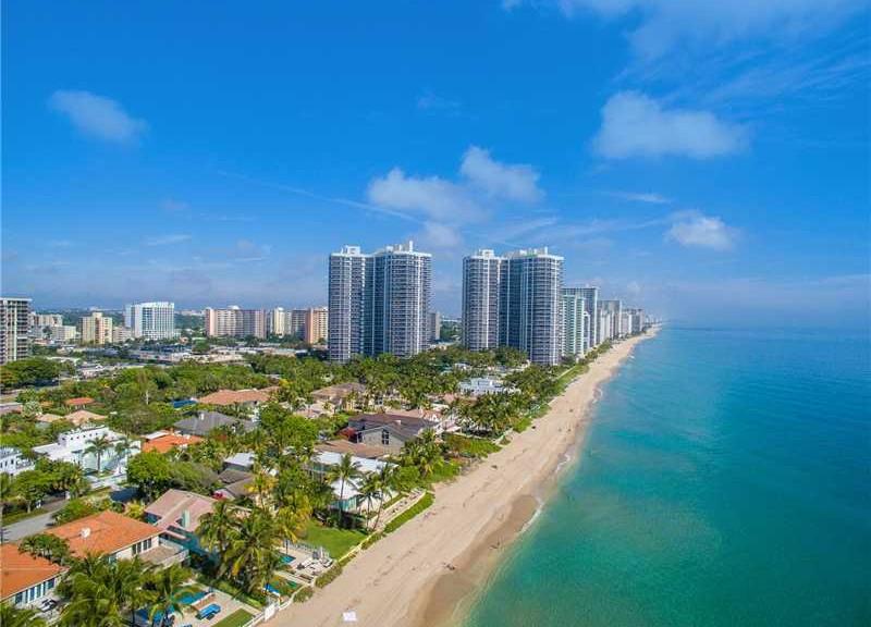 View of luxury Fort Lauderdale condos here on Galt Ocean Mile