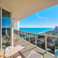 Ocean views from luxury Fort Lauderdale condos for sale in L'Hermitage