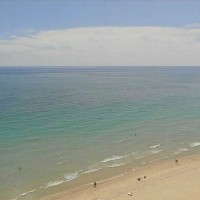 Ocean views from a condo for sale in Regency Tower South