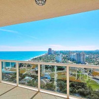 Views from a luxury Fort Lauderdale condo for sale in L'Hermitage