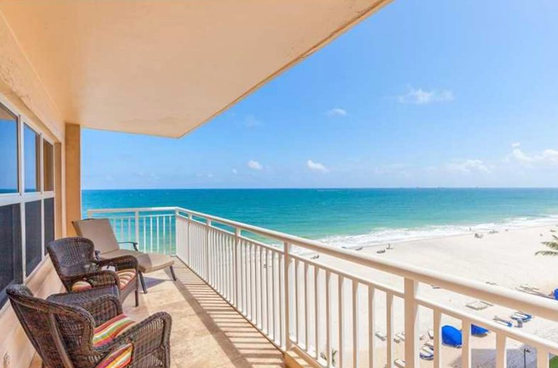 View from one of the Regency Tower condos for sale Fort Lauderdale